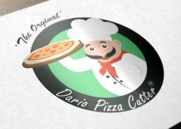 طراحی لوگوی داریو پیتزا کاتر