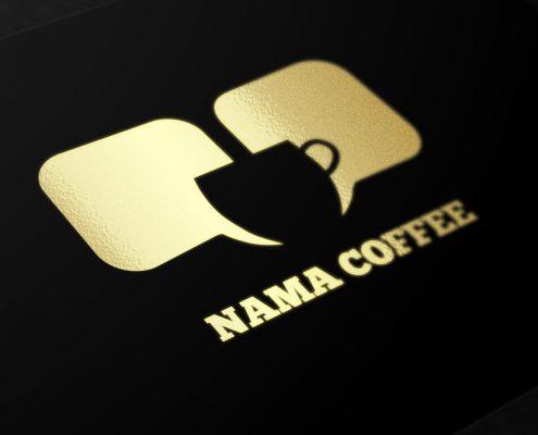 طراحی کارت ویزیت کافه نما