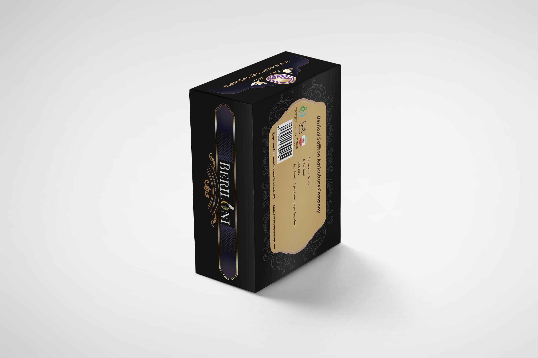 طراحی جعبه زعفران